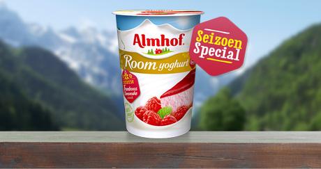 Almhof Roomyoghurt Framboos Cheesecake