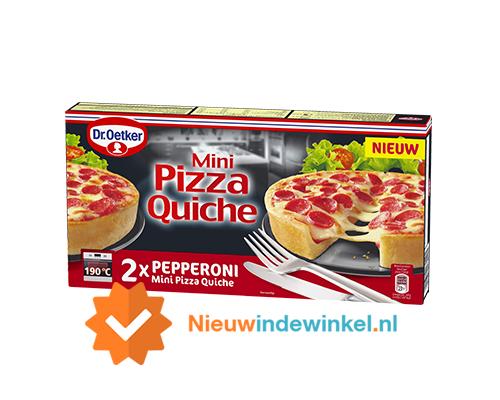 Dr Oetker Pizza Quiche mini pepperoni