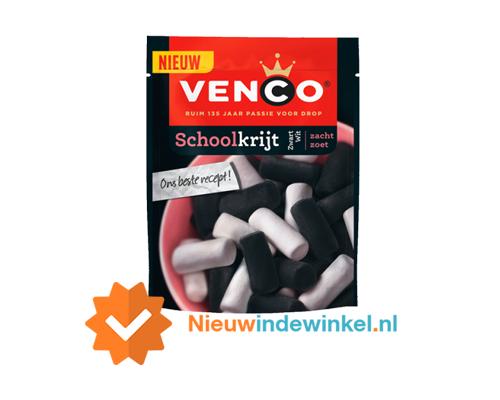 Venco-Schoolkrijt-Zwart-Wit-nieuwindewinkel.nl