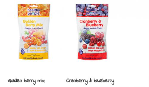 Healthy  People Superfruit golden berry en cranberry & blueberry