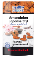 Healthy people snackfood Amandelen japanse stijl