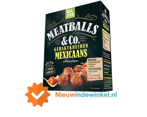 Meatballs Co Gehaktkruiden Mexicaans nieuwindewinkel.nl