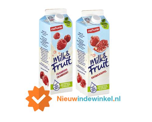 Milk&Fruit framboos-cranberry en Milk&Fruit granaatappel nieuwindewinkel.nl