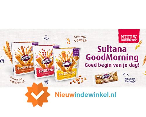 Sultana Goodmorning nieuwindewinkel.nl