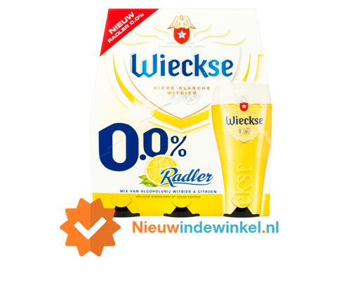 Wieckse Radler 0,0 procent Nieuwindewinkel.nl