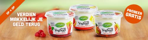 Campina Campina Stevige Yoghurt gratis proberen