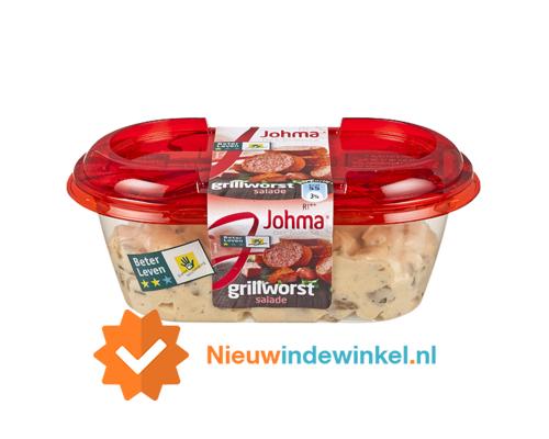 Johma grillworst salade 175gram nieuwindewinkel.nl