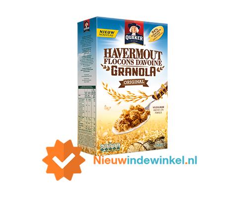 Quaker Havermout Granola Original nieuwindewinkel.nl