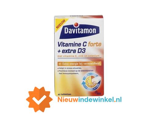 Davitamon vitamine C forte + extra D3 nieuwindewinkel.nl