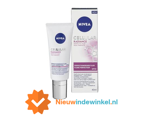 Nivea Cellular Radiance nieuwindewinkel.nl