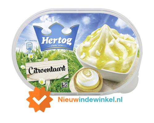 Hertog citroentaart ijs nieuwindewinkel.nl