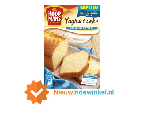 Koopmans yoghurtcake nieuwindewinkel.nl